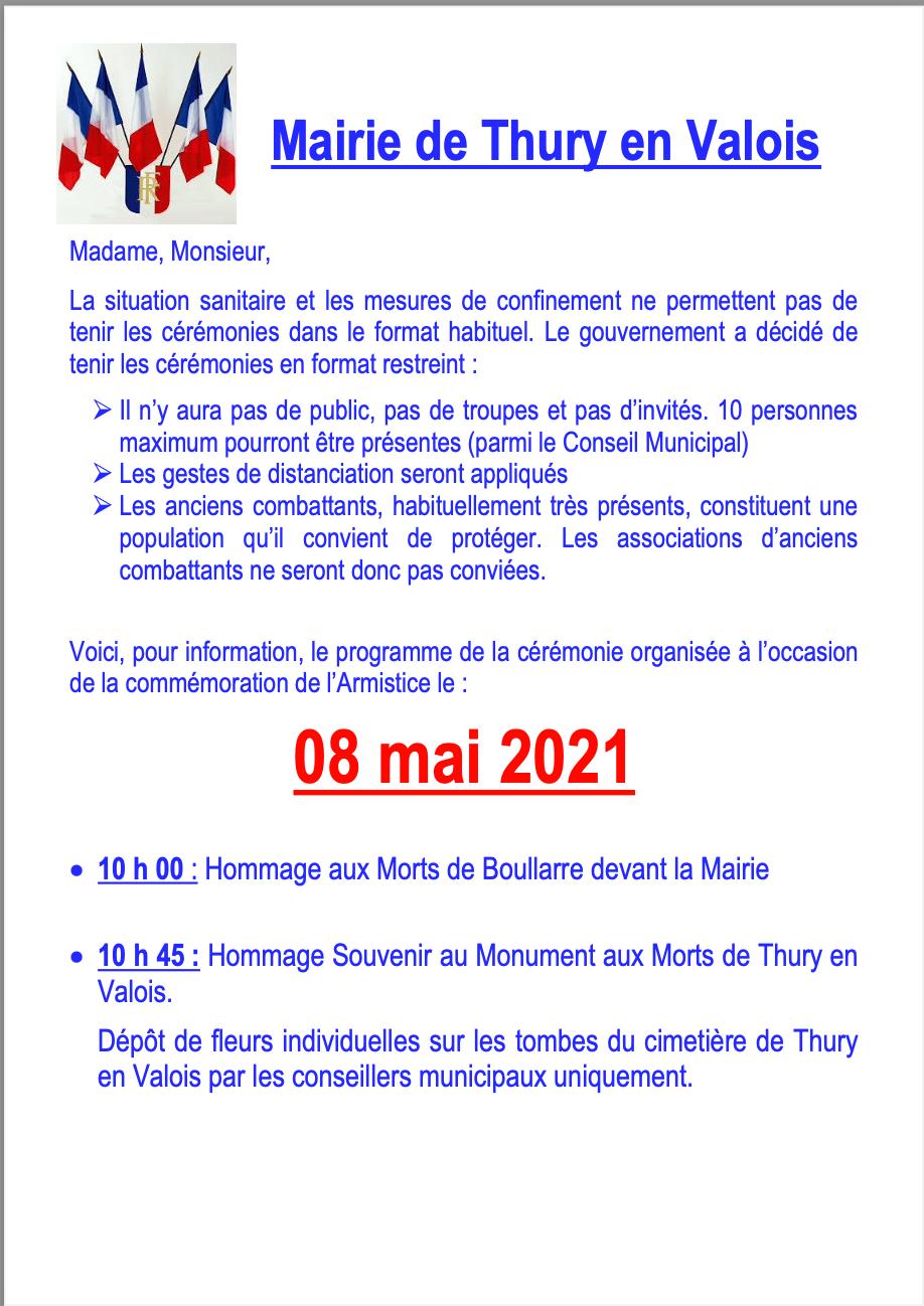 8 mai 2021