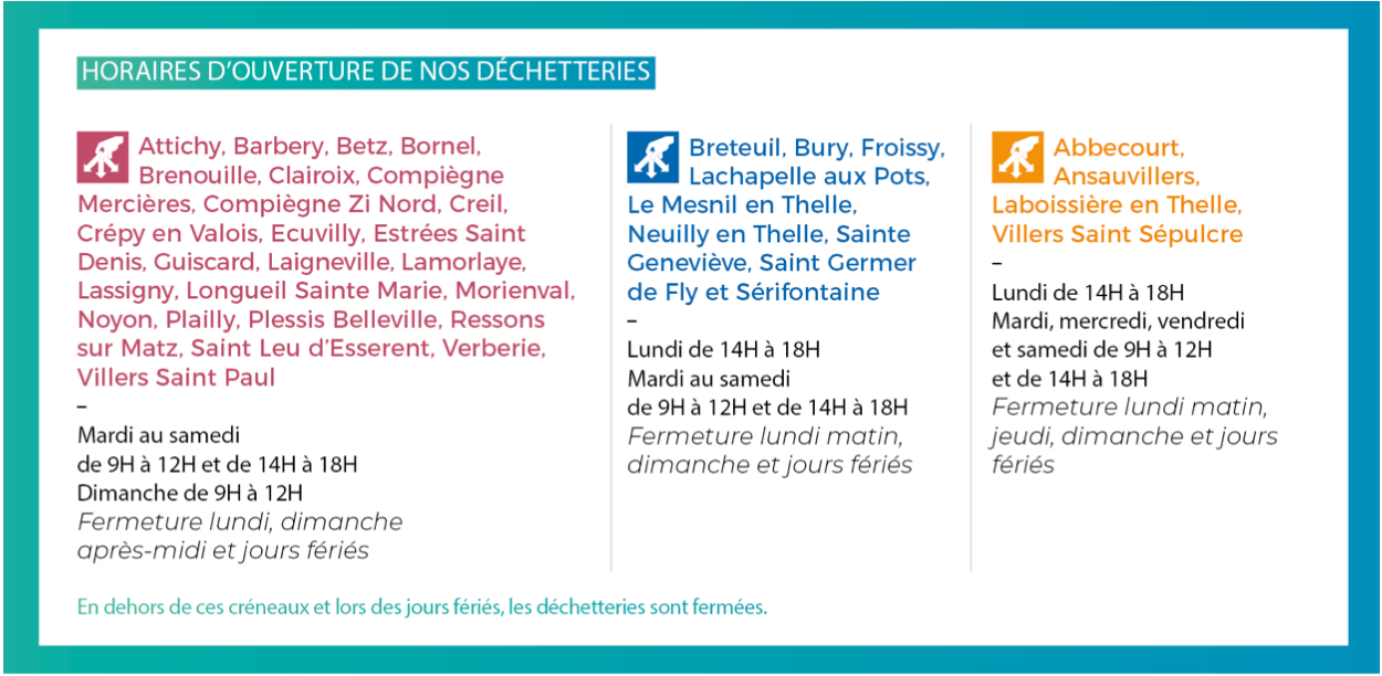Horaires smdo